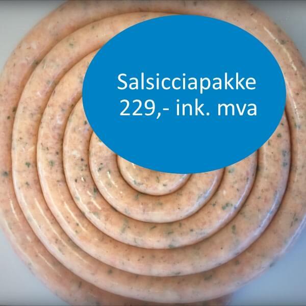 Pris på salsicciapakke